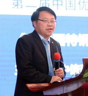 演讲题目:《对中国特钢行业未来发展的几点看法》